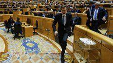 rajoy enfatizo que el estado de derecho restaurara la legalidad en cataluna