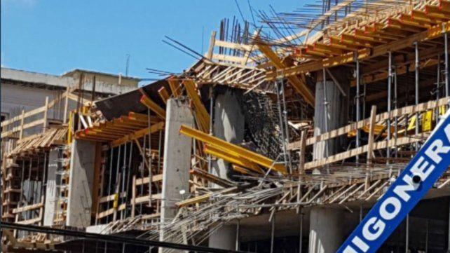 Ocho operarios heridos al derrumbarse parte del nuevo edificio de los Tribunales de Santa Fe