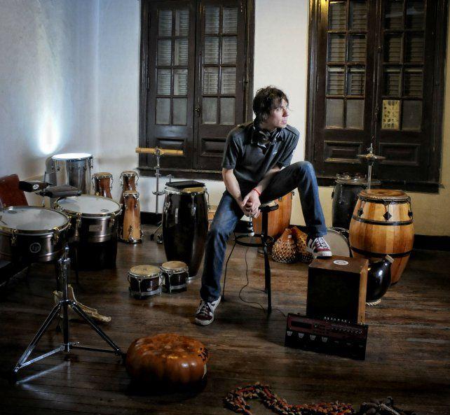 Tribal y moderno. Seminara adelantará temas de su próximo disco.