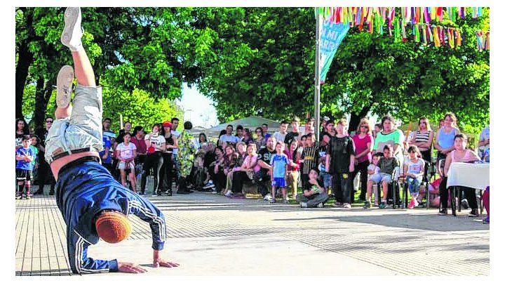Destreza. Miles de rosarinos participaron de unas 500 propuestas.