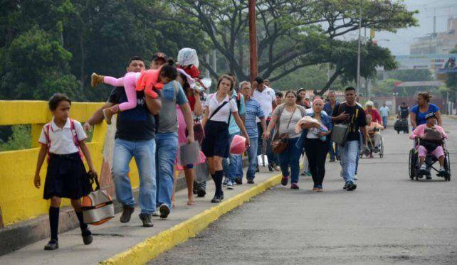 Escape. Los conflictos internos en Venezuela aceleraron el flujo migratorio.