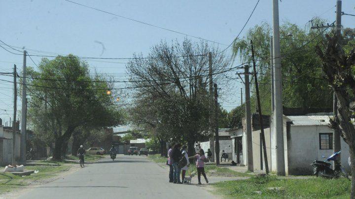 En la calle. El Pasaje 507 donde mataron a Alejandro Ariel Migone.