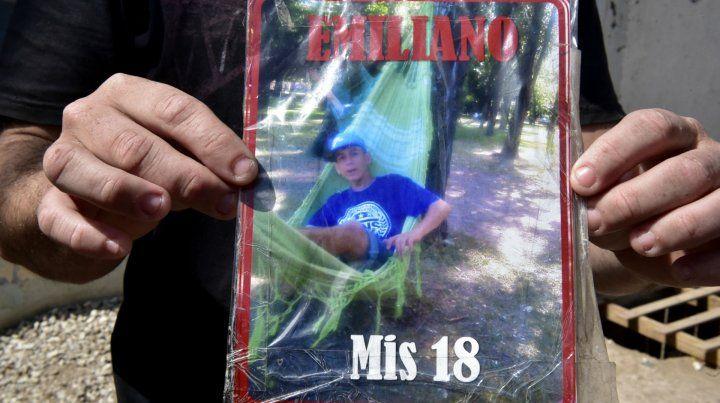 Emiliano. Para sus familiares el chico no se mató sino que lo asesinaron.