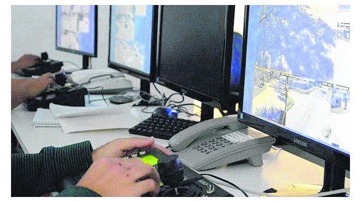 Centro de monitoreo. Se sumarán nuevos equipamientos.