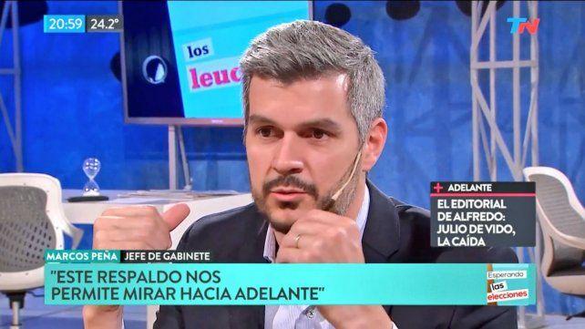 Peña admitió que el gobierno buscará actualizar jubilaciones por inflación