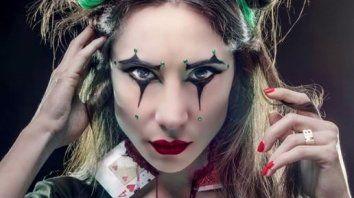 magui bravi lucio su rostro renovado y terrorifico para sumarse a la fiesta de halloween
