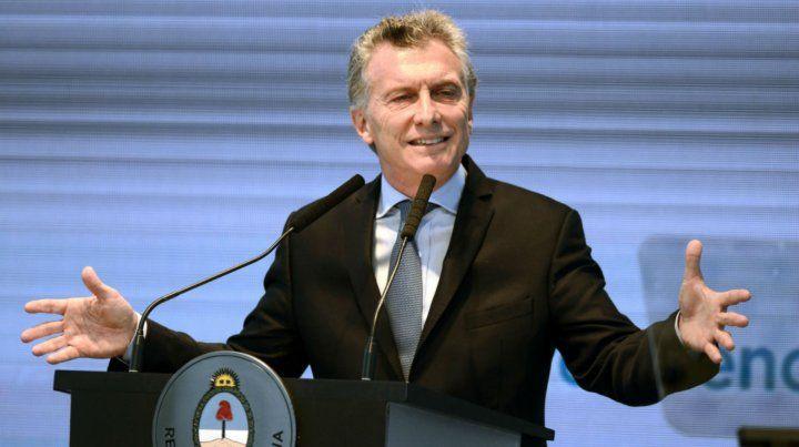 Macri presentó los ejes de su gestión.