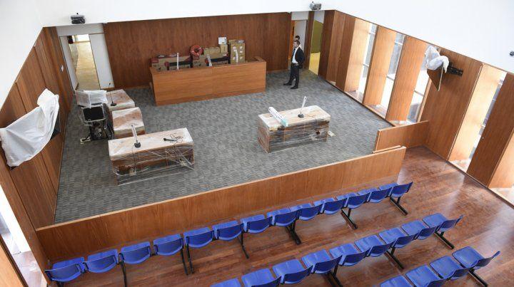 Como es el nuevo tribunal donde van a ser juzgados los líderes de la banda Los Monos