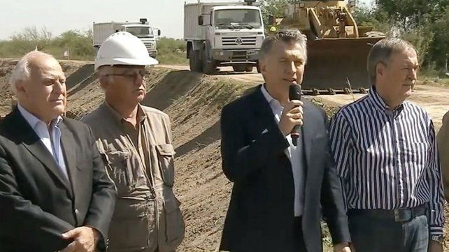 Antes de venir a Pérez, Macri puso en marcha obras junto a Lifschitz y Schiaretti