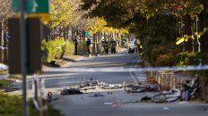 al menos ocho personas murieron tras un presunto ataque terrorista en nueva york