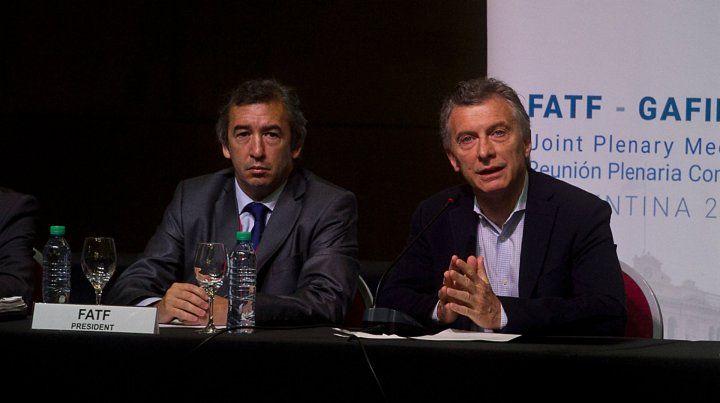 Macri encabezó el acto de apertura de la reunión plenaria conjunta que mantendrán el Grupo de Acción Financiera Internacional (GAFI) y el Grupo de Acción Financiera de Latinoamérica (GAFILAT).