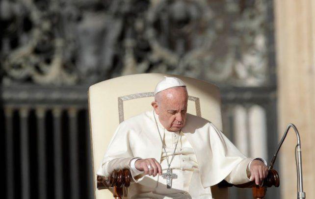 El Papa Francisco pidió a Dios que convierta el corazón de los terroristas y libere el mundo del odio