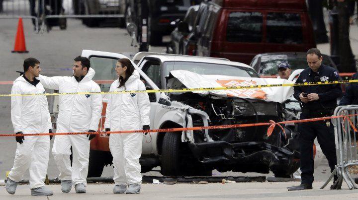 Familiares de las víctimas del atentado en Nueva York viajan para repatriar los restos
