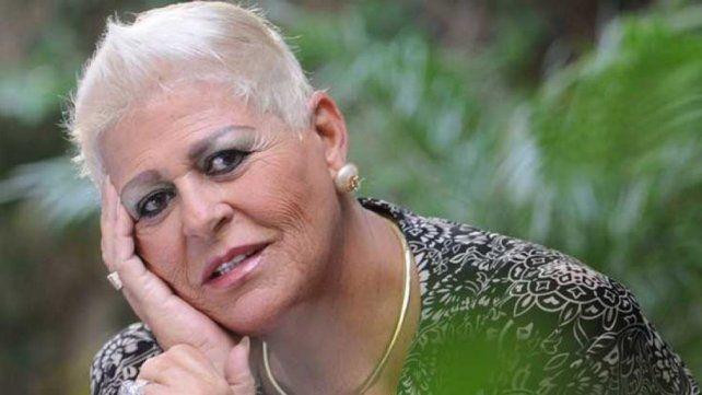 Internada.La cantante María Martha Serra Lima