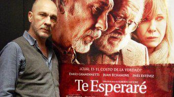 La quinta. Grandinetti filmó su película número cinco con Lecchi. Nos gustan las historias que contamos, dijo.