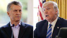 Llamado. Trump se comunicó con Macri y le transmitió sus condolencias por los rosarinos.