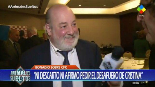Bonadio habló del posible pedido de desafuero de Cristina Fernández
