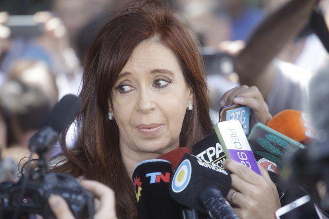 La expresidenta Cristina Fernández de Kirchner tendrá que afrontar un juicio oral.