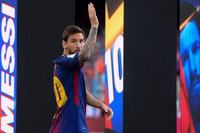 Messi ratificó su condición de ídolo con un gesto solidario con los Médicos sin Fronteras