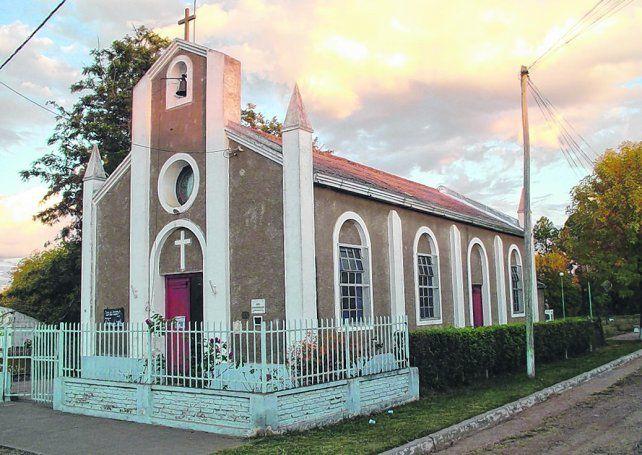 Un ícono. La capilla del Sagrado Corazón de Jesús