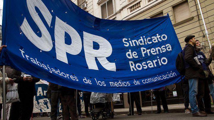 Investigación. El Sindicato de Prensa Rosario mostró su preocupación por el fallo en Ramallo.