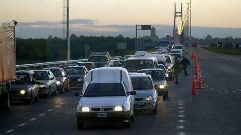 SaturaciÓn. La proyección estadísticas sobre el tránsito de vehículos por el complejo vial señala que hacia el año 2023 será el doble del actual.