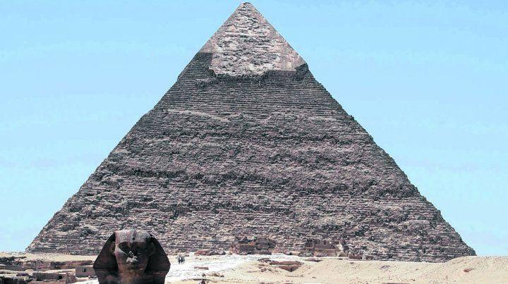 pirámide de keops. La gran cavidad interior