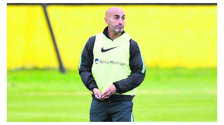 Conductor. El uruguayo está convencido de que el equipo mejorará en un futuro.