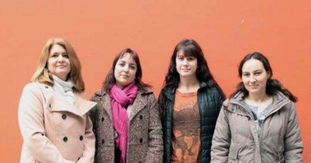 Las investigadoras de la cátedra sobre discapacidad auditiva: Fumagalli