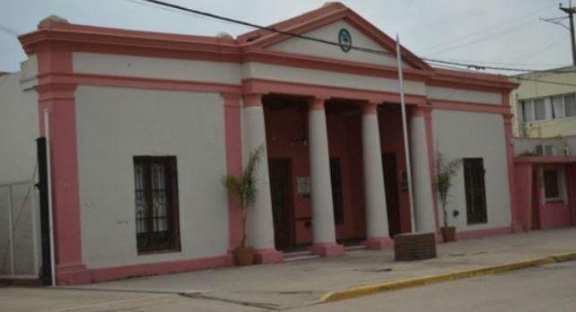 La sede comunal de la localidad del Cordón industrial.