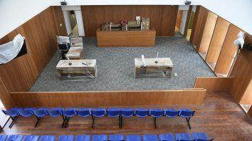 En el Centro de Justicia Penal de Virasoro y Mitre se están ultimando los detalles para realizar el juicio.