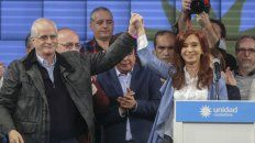 Aval. La ex presidenta refrendó el manifiesto condenatorio de la detención de Amado Boudou.