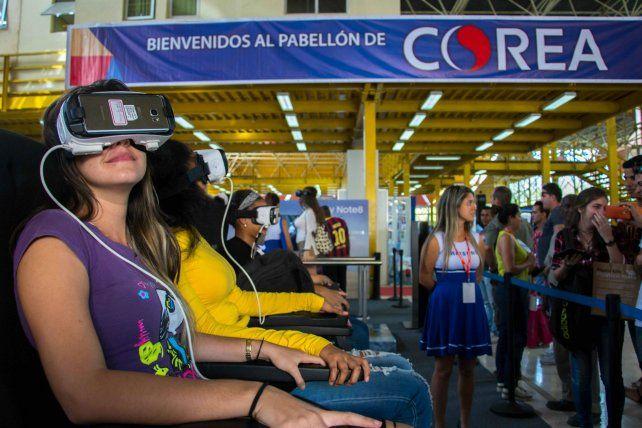Fascinación. Realidad virtual en la feria internacional de La Habana