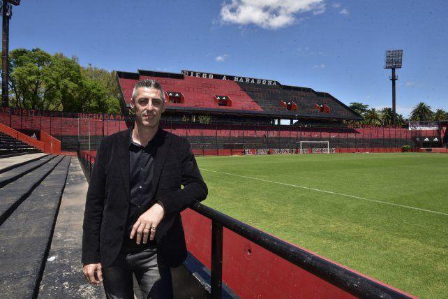 El vice segundo de Newells habló de la situación actual del club.