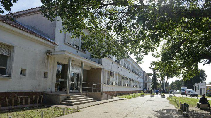 La víctima fue atendida en el Hospital Eva Perón.
