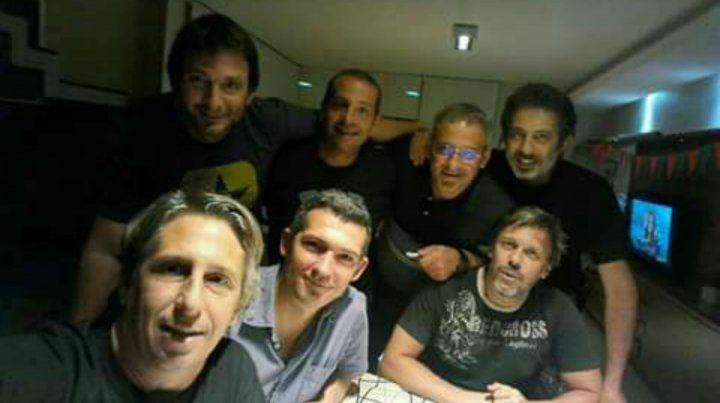 De izquierda a derecha. Arriba: Diego Angelini