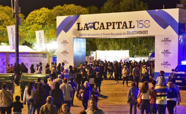 La Capital, presente en el XXXIII Encuentro Nacional y Feria de Colectividades.