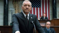 Protagonista. El actor, en un pasaje de la exitosa House of Cards.