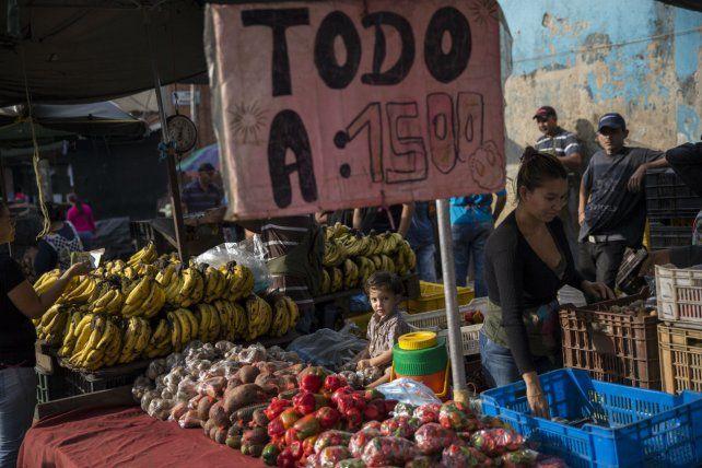 Inflación. Los bolívares no alcanzan para nada
