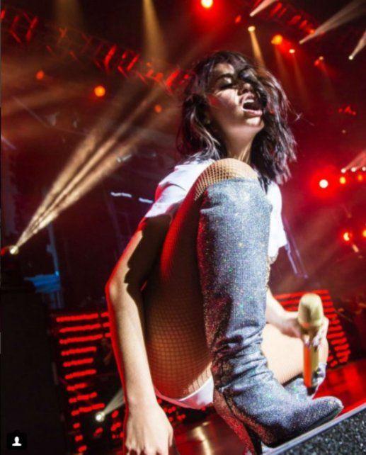 Lali Espósito hizo delirar al Luna Park en su primer show
