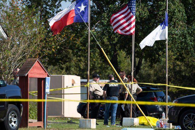 El atacante resultó muerto pero la policía no brindó más detalles.