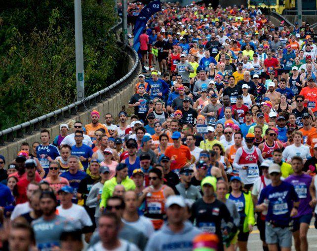 La tradicional competencia de 42 kilómetros a través de las calles neoyorquinas estuvo marcada por el atentado del pasado martes.