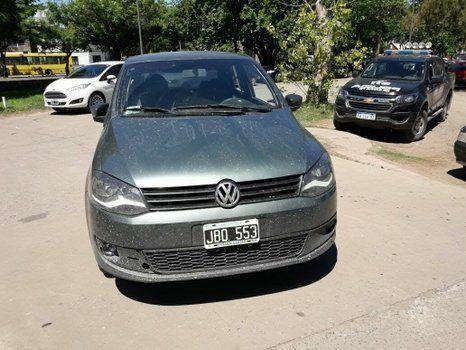 balazo. El VW Fox de Milton