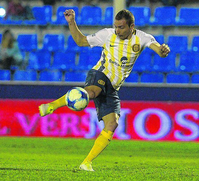 Volvió al gol. Marco Ruben se sacó la mufa de no convertir frente a Tigre