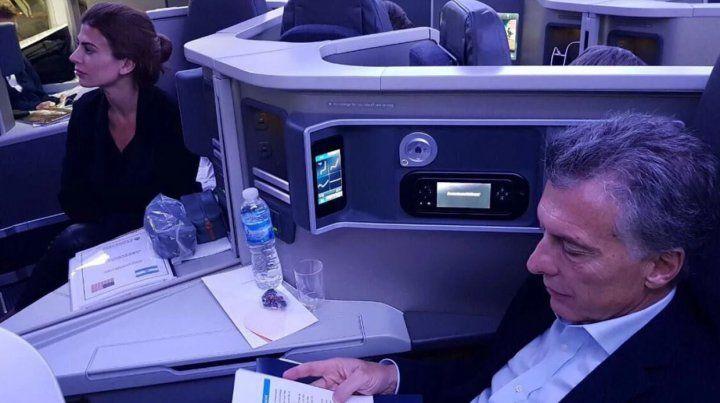 Macri viajó a Nueva York y será orador del acto en homenaje a los rosarinos