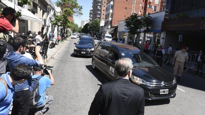 Familiares y amigos despiden a los rosarinos muertos en el atentado en Nueva York