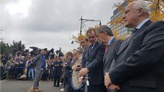 El gobernador Miguel Lifschitz asistió al acto homenaje a las víctimas.