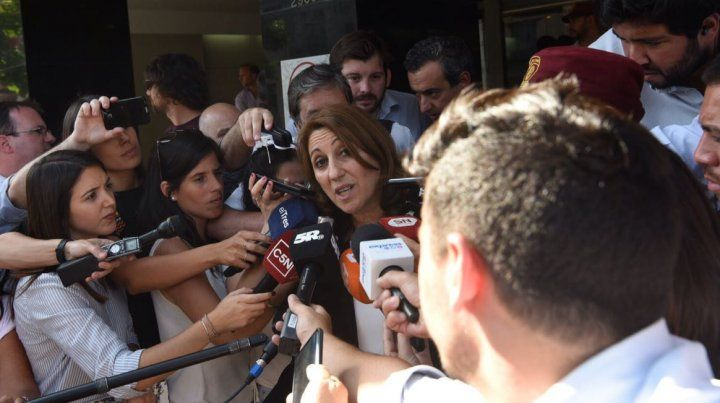 La intendenta Mónica Fein visitó a los familiares de las víctimas del atentado en Nueva York.