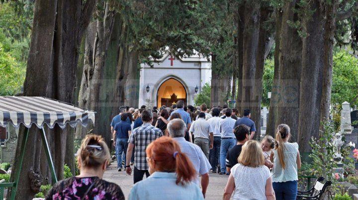 Los restos de Diego Angelini fueron trasladados al Cementerio de los Disidentes