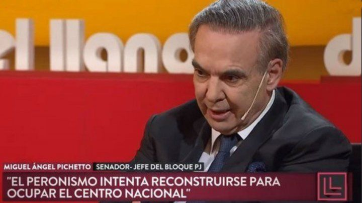 Pichetto dijo que el peronismo no puede negociar la reforma laboral sin el apoyo de los gremios